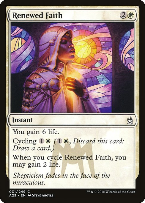 Renewed Faith (A25)