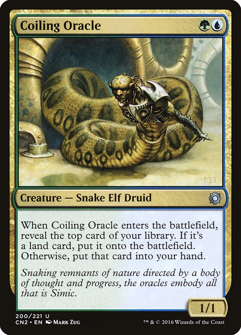 Coiling Oracle (CN2)