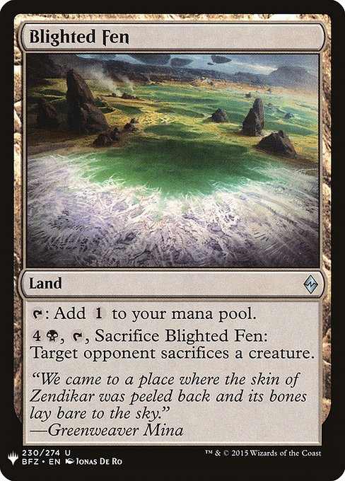 Blighted Fen (MB1)