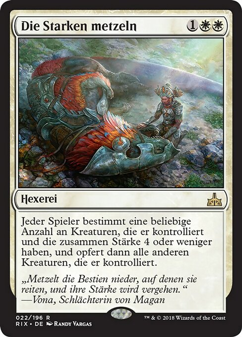 Slaughter the Strong (RIX)