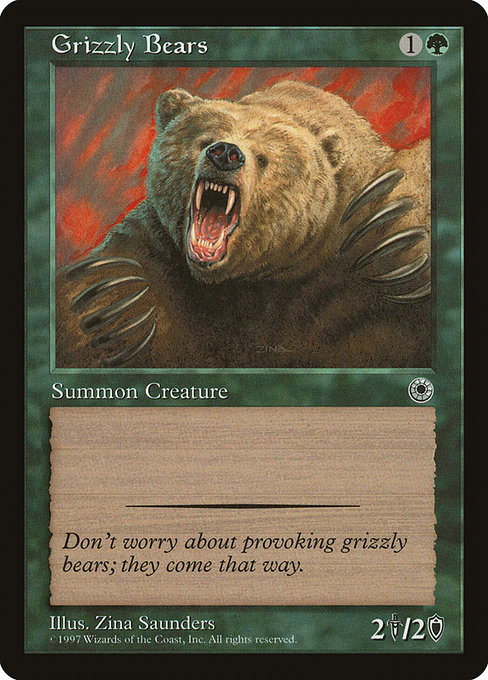 Grizzly Bears (POR)