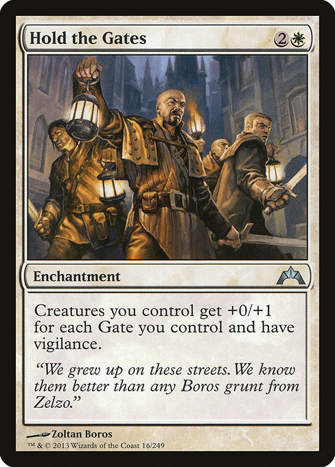 Hold the Gates (GTC)
