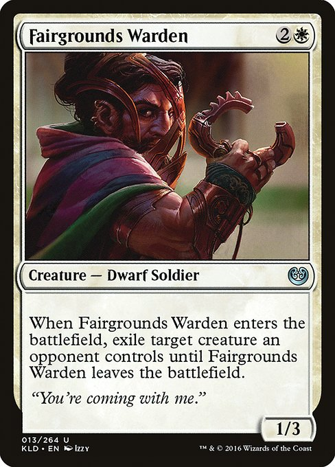 Fairgrounds Warden (KLD)