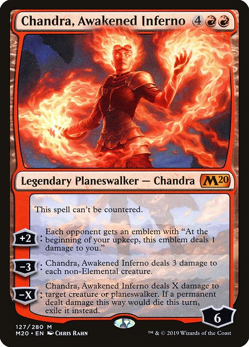 Chandra, Awakened Inferno (M20)
