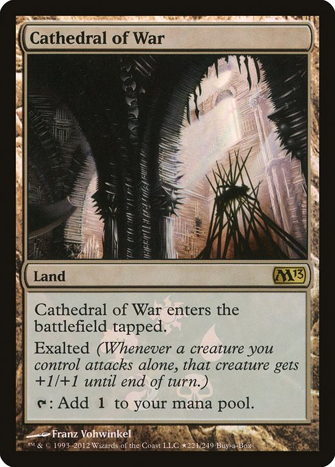 Cathedral of War - Buy MTG Cards