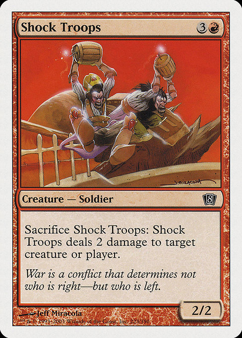 Shock Troops (8ED)