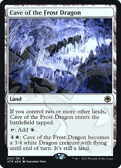 Cave of the Frost Dragon (PAFR)