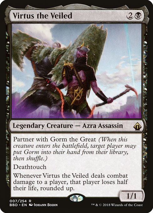 Virtus the Veiled (BBD)