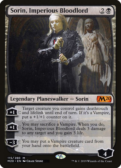 Sorin, Imperious Bloodlord (PM20)