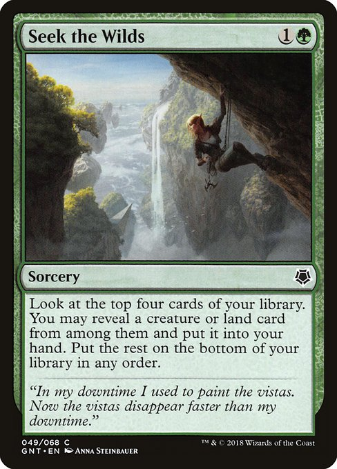 Seek the Wilds (GNT)