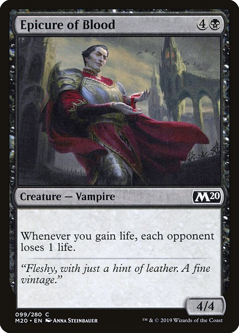 Epicure of Blood (M20)