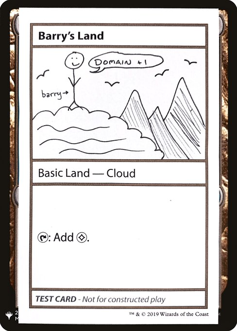 Barry's Land (CMB1)
