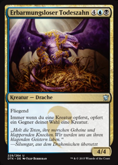 Ruthless Deathfang (DTK)