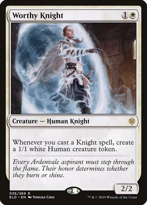 Worthy Knight (ELD)