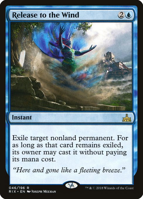 Release to the Wind (RIX)