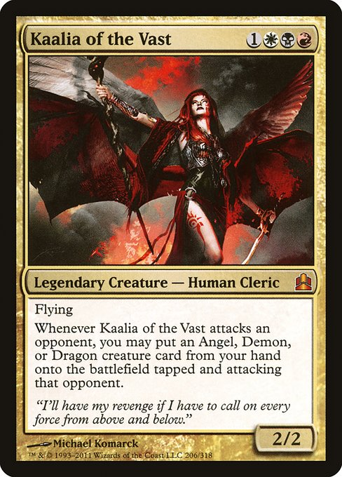 Kaalia of the Vast (CMD)