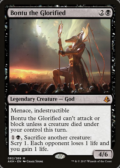 Bontu the Glorified (AKH)