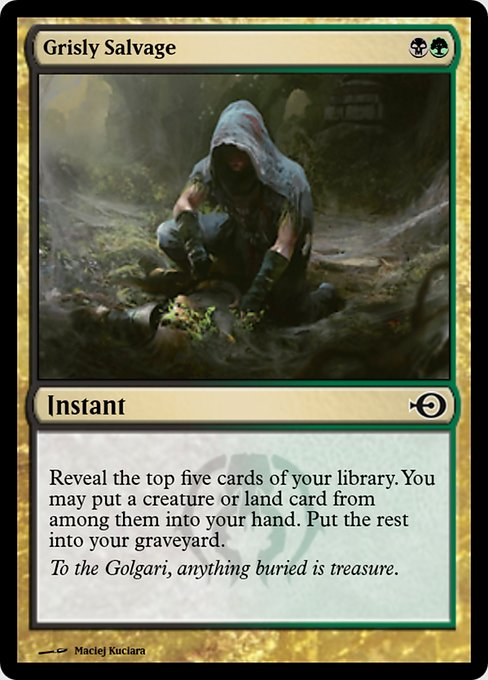 Grisly Salvage (PRM)