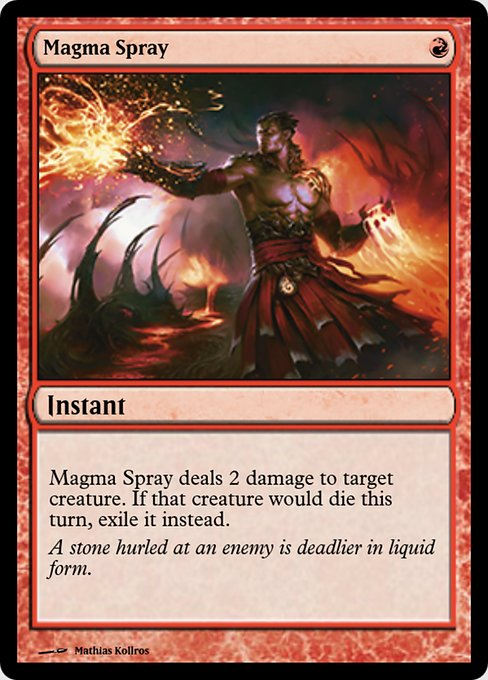Magma Spray (PRM)