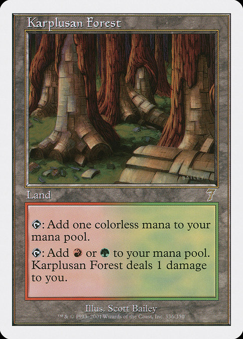 Karplusan Forest (7ED)