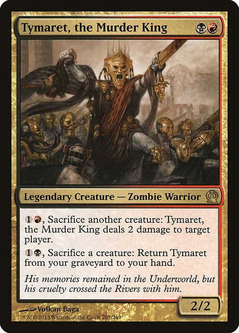 Tymaret, the Murder King (THS)