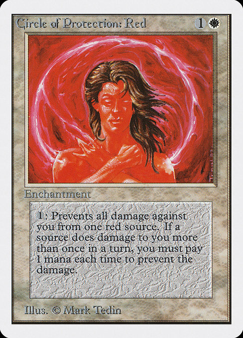 Circle of Protection: Red (2ED)