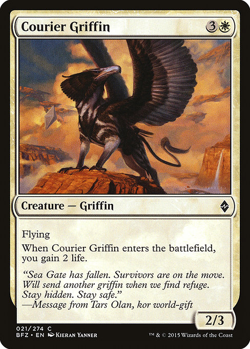 Courier Griffin (BFZ)