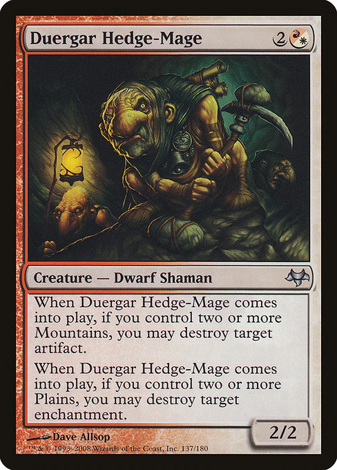 Duergar Hedge-Mage (EVE)