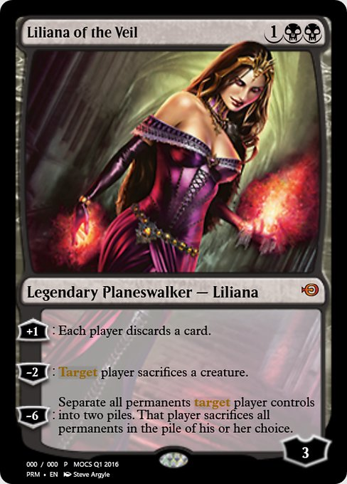 Liliana of the Veil (PRM)