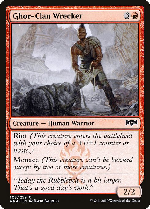 Ghor-Clan Wrecker (RNA)