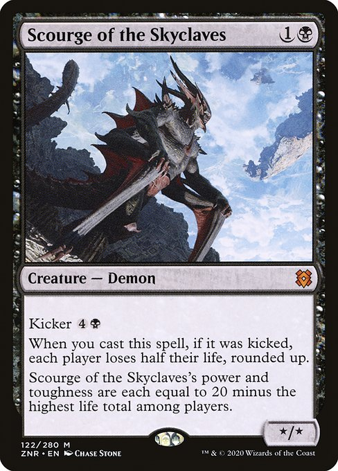 Scourge of the Skyclaves (ZNR)