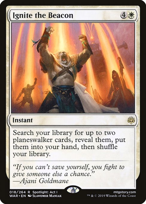 Ignite the Beacon - Magic: the Gathering