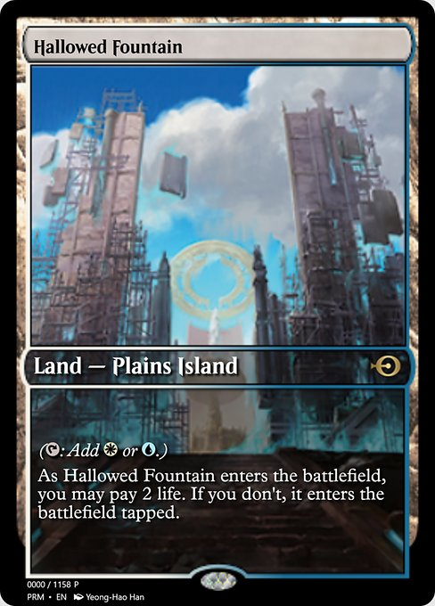 Hallowed Fountain (PRM)