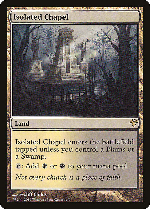 Isolated Chapel (MD1)