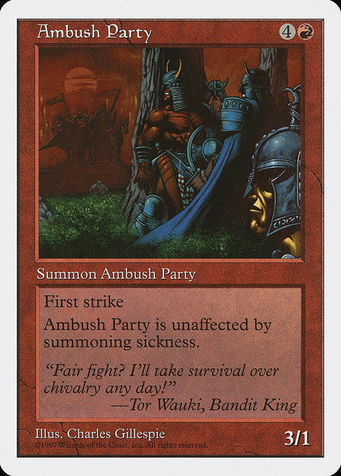 Ambush Party (5ED)