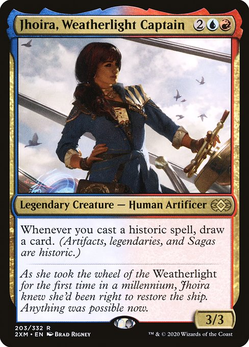 Jhoira, Weatherlight Captain (2XM)