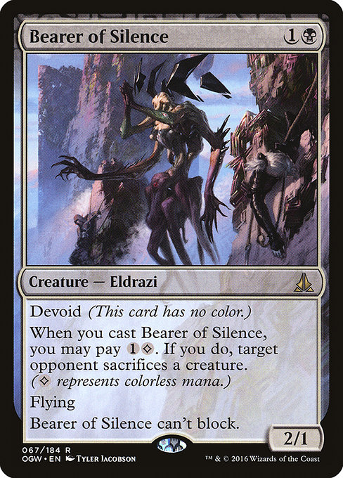 Bearer of Silence (OGW)