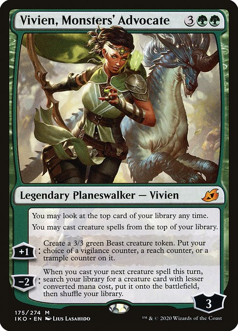 Vivien, Monsters' Advocate (IKO)