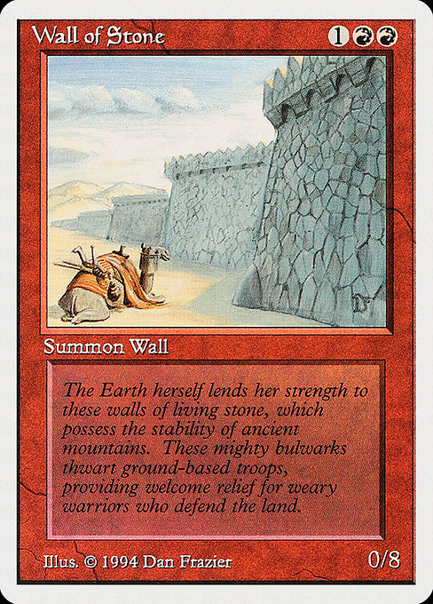 Wall of Stone (SUM)