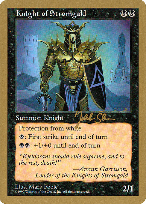 Knight of Stromgald (WC97)