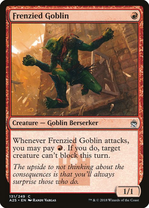 Frenzied Goblin (A25)