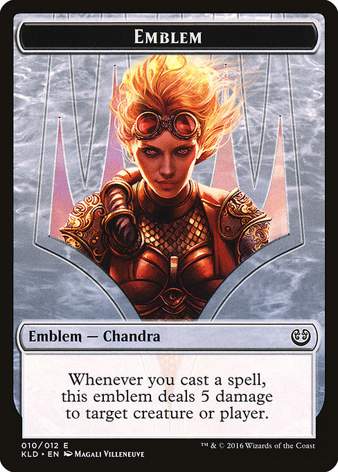 Chandra, Torch of Defiance Emblem (TKLD)