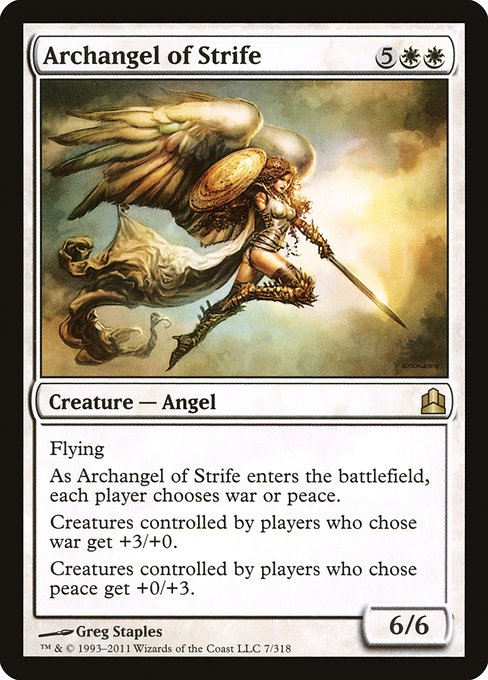 Archangel of Strife (CMD)