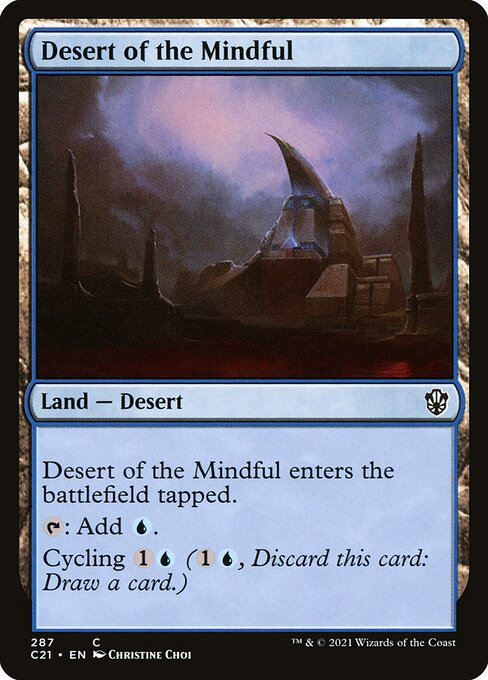 Desert of the Mindful (C21)