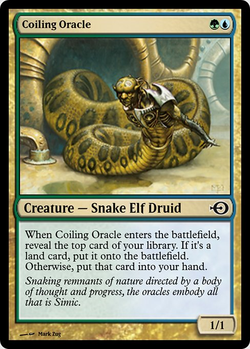 Coiling Oracle (PRM)