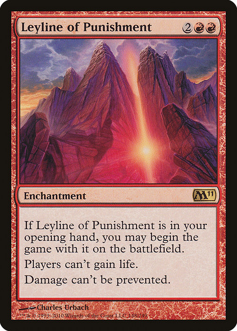Leyline of Punishment (M11)