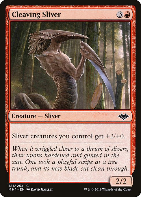 Cleaving Sliver (MH1)