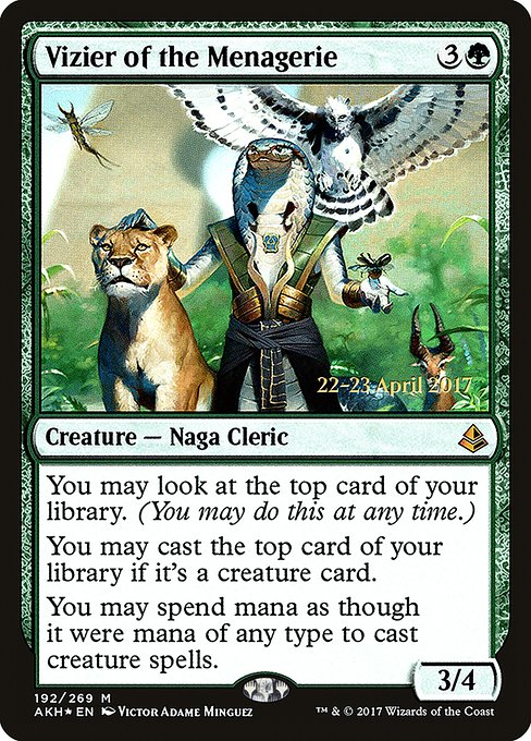 Vizier of the Menagerie (PAKH)