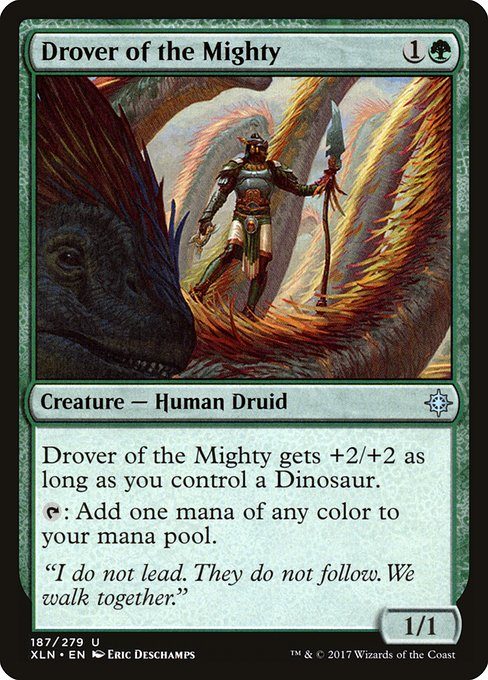 Drover of the Mighty (XLN)