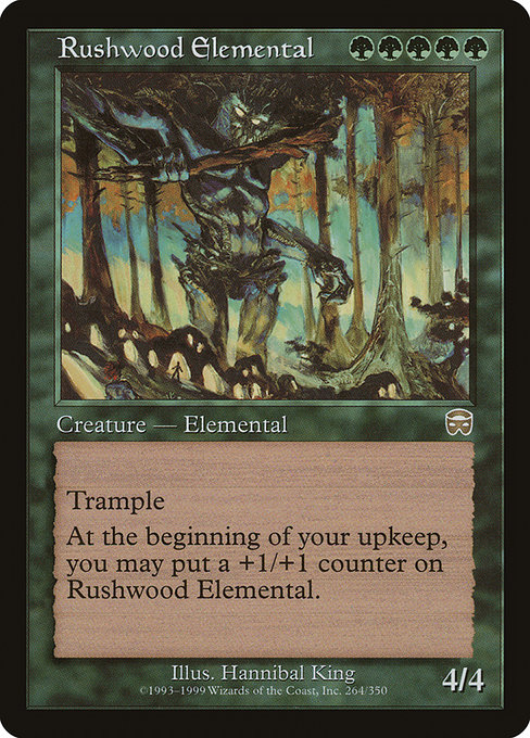 Rushwood Elemental (MMQ)